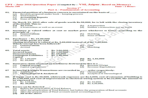 CAU310 Online Test