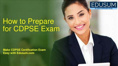 CDPSE Exam Material