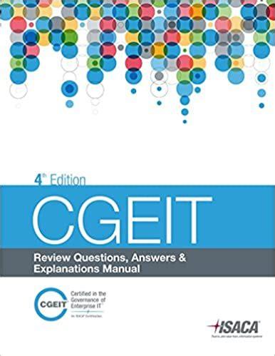 CGEIT PDF