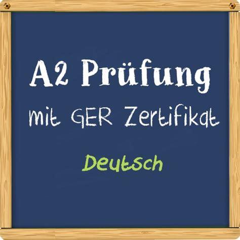 CISA Deutsch Prüfung