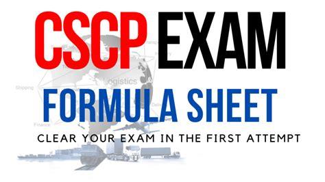CSCP Valid Braindumps Sheet
