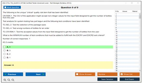 CTAL-TM_Syll2012 Exam Topics