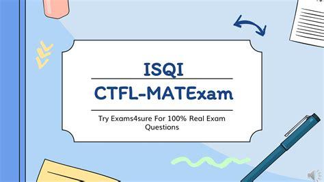 CTFL-MAT Exam