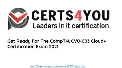 CV0-003 Valid Exam Materials