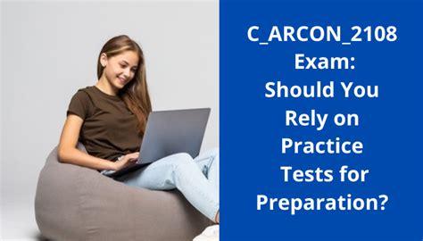C_ARCON_2108 Exam Preparation