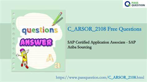 C_ARSOR_2108 Latest Practice Materials