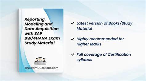 C_BW4HANA_24 New Study Materials