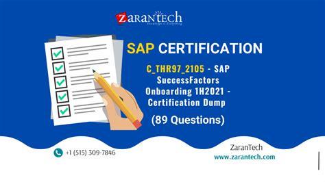C_THR97_2105 Online Prüfung