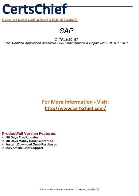 C_TPLM30_67 Online Tests