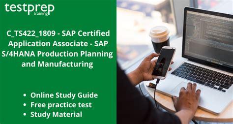 C_TS422_2020 Online Test
