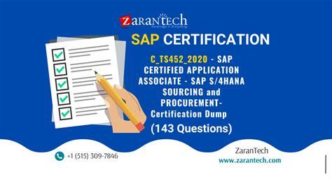 C_TS452_2020 Latest Exam Test