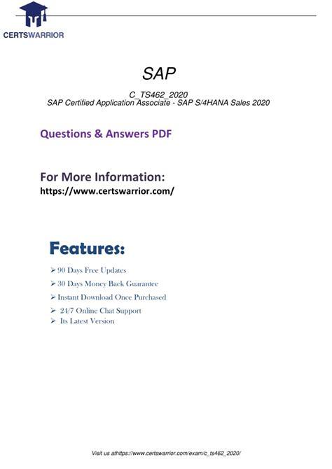 C_TS462_2020 Reliable Exam Guide