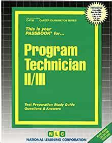 Ca Program Technician 2 Study Guide