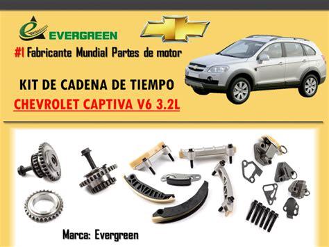 Cadenas De Tiempo Chevrolet Captiva Service Manual