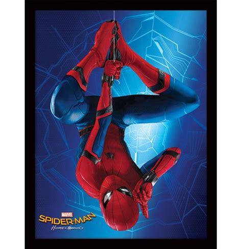 Cadre photos pvc spiderman noir