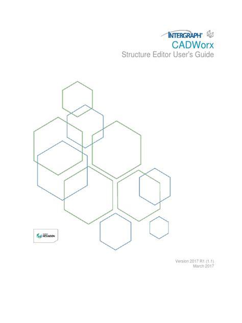 Cadworx 2017 Training Manual