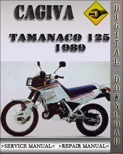 Cagiva Tamanco 125 1989 Service Repair Workshop Manual
