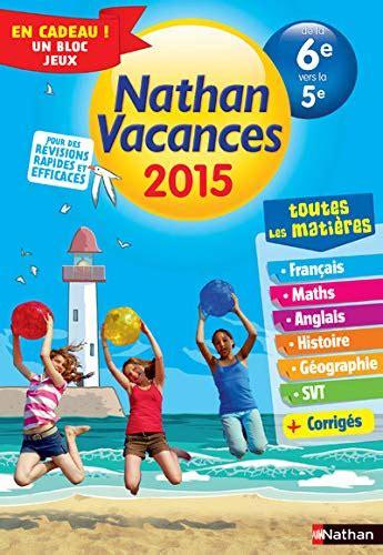 Cahier De Vacances Tout En Un 6e 5e