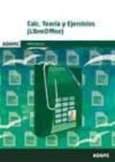 Calc Teoria Y Ejercicios Libreoffice