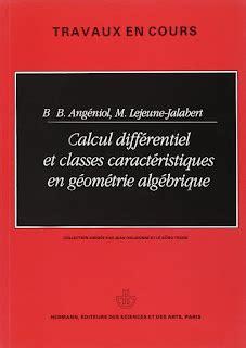 Calcul différentiel et classes caractéristiques en géométrie algébrique (Travaux en cours)