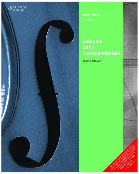 Calculus Early Transcendentals 7th Edition Answer Key