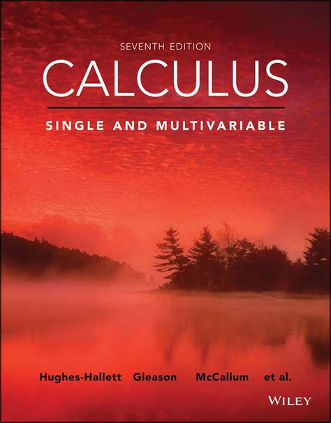 Calculus Multivariable 6th Ed Solutions Manual Mccallum