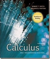 Calculus Smith Minton 3rd Edition Solution Manual