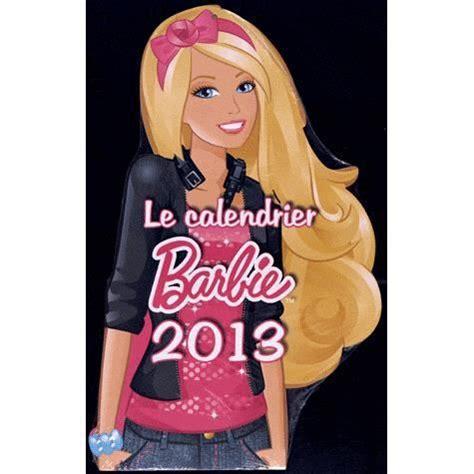 Calendrier 2013 Barbie