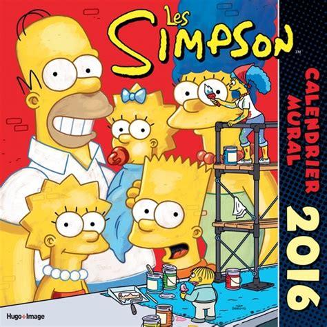 Calendrier Mural Les Simpson 2016