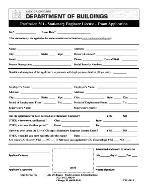 California Stationary Engineer License