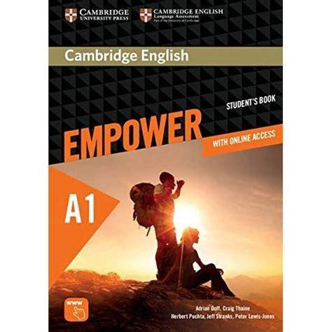 Cambridge English Empower A1 Student S Book Print Assessment Package Personalised Practice Online Workbook And Online Teacher Support Fur Erwachsenenbildung