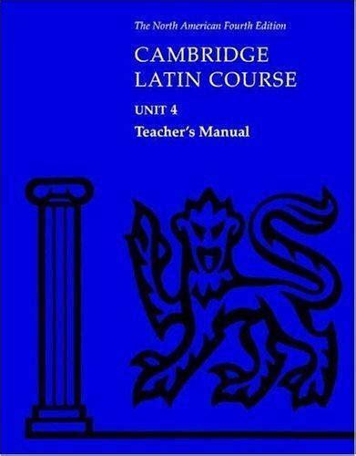Cambridge Latin Course Unit 4 Teachers Manual