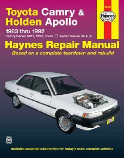 Camry Apollo Service Manual
