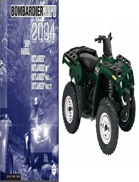 Can Am Outlander 800 2006 Workshop Repair Service Manual