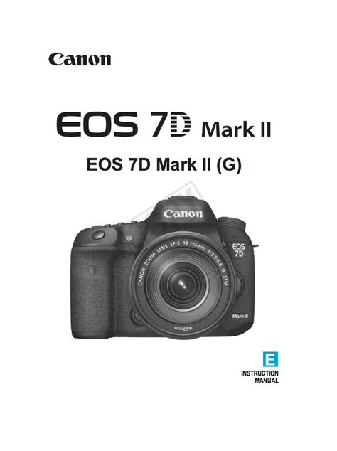 Canon 7d Manual