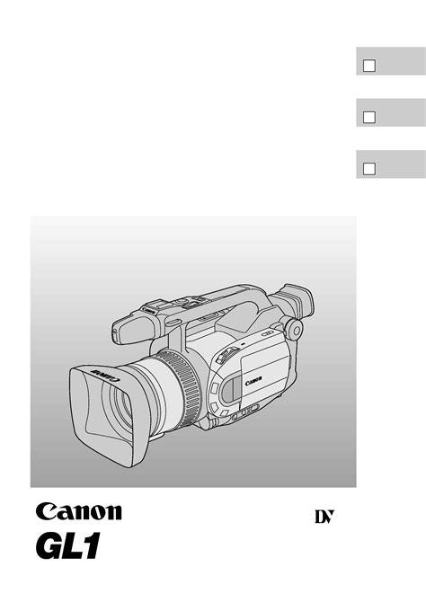 Canon Gl1 Repair Manual Video