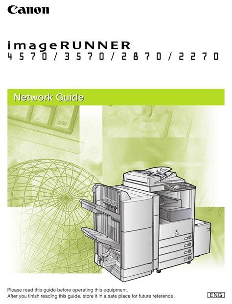 Canon Imagerunner 4570 Manual