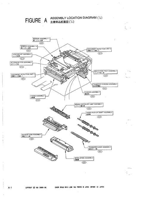 Canon Np6020 Parts Manual