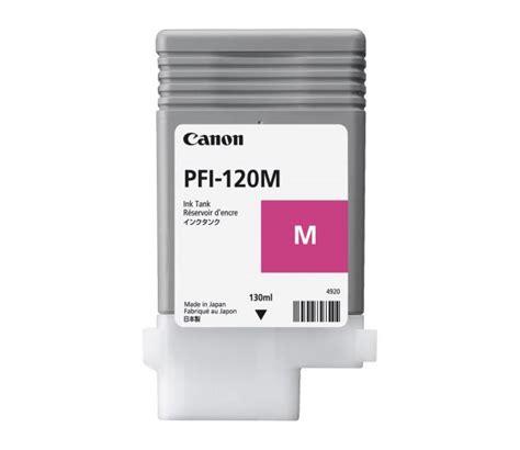 Canon Pfi 120m Cartouche D Encre Magenta 130 Ml Cartouches D Encre Magenta Canon Tm 200 Tm 205 Tm 300 Tm 305 2887c001 Jet D Encre 130 Ml