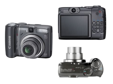 Canon Powershot A590 User Guide