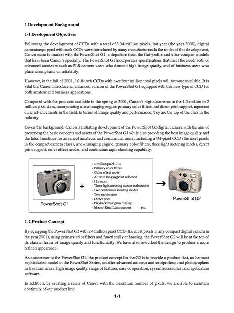 Canon Powershot G2 Digital Camera Service Repair Manual