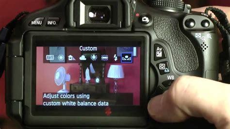 Canon T3i Manual White Balance