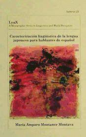 Caracterizacion Linguistica De La Lengua Japonesa Para Hablantes