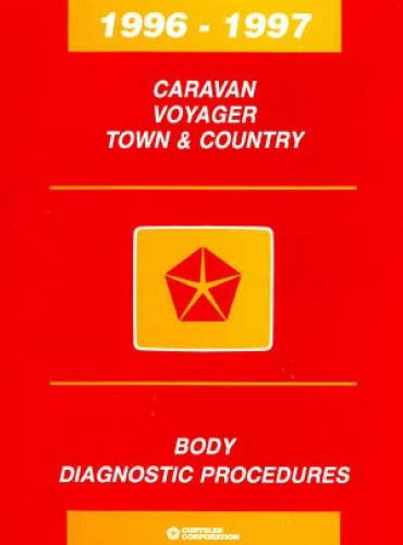 Caravan Voyager Town And Country Body Diagnostic Procedures Manual 1996 1997 81 699 96035