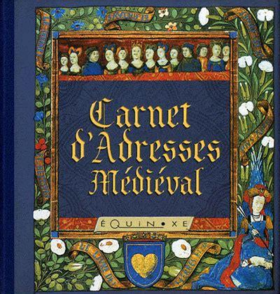Carnet D Adresses Medieval