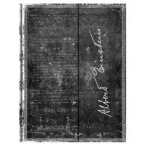 Carnet Paperblanks Ultra 180 X 230 Mm Serie Les Manuscrits Estampes Modele Albert Einstein Theorie De La Relativite Restreint