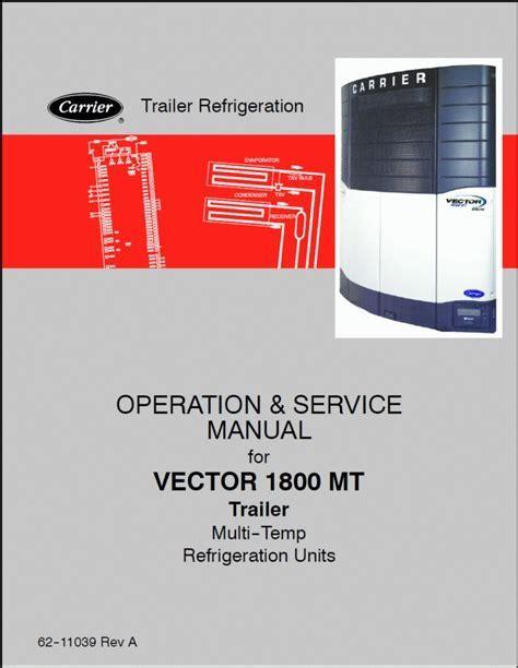 Carrier Reefer Service Repair Manual