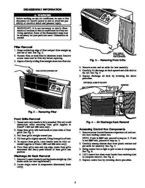 Carrier Sensation Air Conditioner Manual