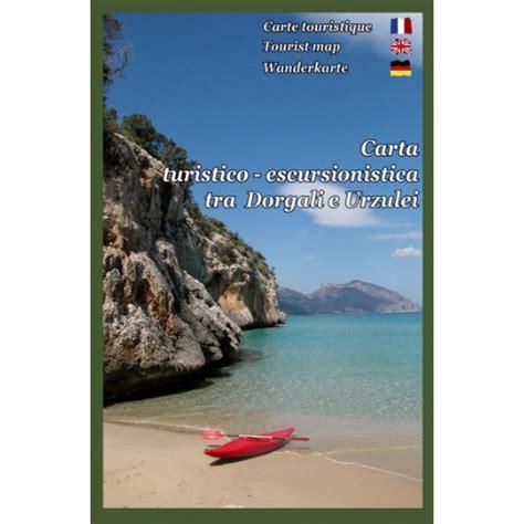 Carta turistico-escursionisticatra Dorgali e Urzulei. Scala 1:30.000