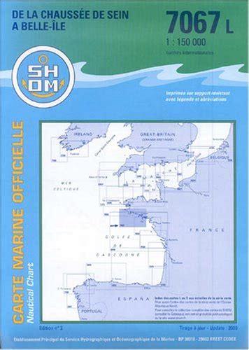 Carte Marine Chaussee De Sein A Belle Ile En Mer